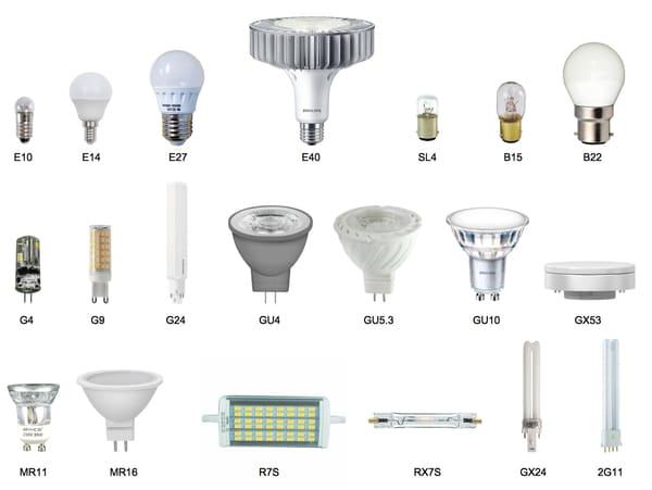 Culots Ampoules